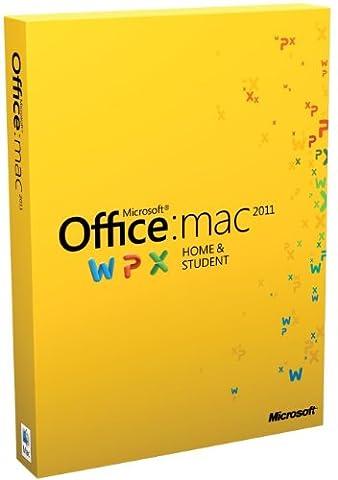 Office Mac Home & Student 2011 - 1MAC/1User (Disc Version) (Microsoft Word For Mac Disc)