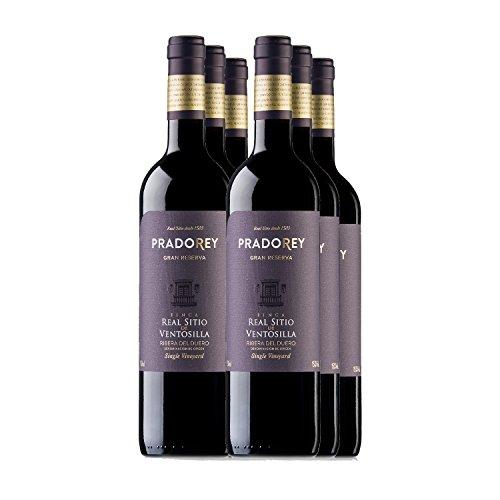PRADOREY Finca Real Sitio De Ventosilla Vino tinto-Gran Reserva-Elaborado sólo en añadas excepcionales, 1999, 2004 y…