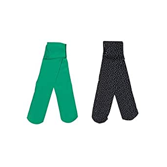 Catimini Lot COLLANTS, Medias para Niñas, Verde (Vert Moyen 54), 3-4 años (Tallas De Fabricante: 25/26)(Pack de 2)