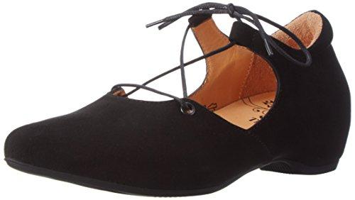 00 Black Black 4 Black Think UK Imma 5 Flats Women's Ballet wxICgCqv7