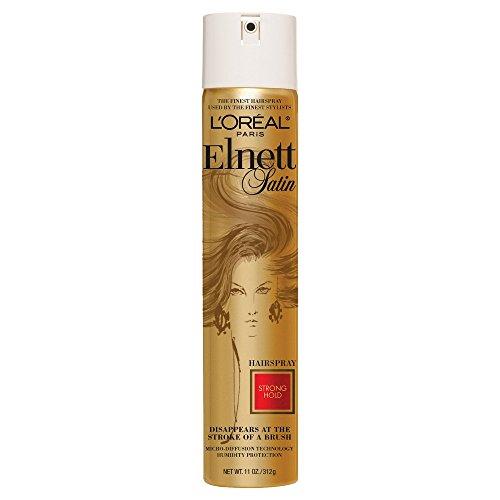 L'Oréal Paris Elnett Satin Strong Hold Hairspray, 11 oz.