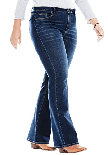 Woman Within Women's Plus Size Petite Perfect Bootcut Jean