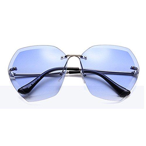 Unisex Fashion anti UV gafas marco Oversized azul Meliya de conducción sol gafas de sin de morado polarizadas montura sol dA8gwx