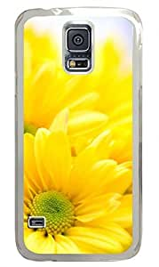 Sunflower 10 Clear Hard Case Cover Skin For Samsung Galaxy S5 I9600