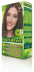 Naturtint Naturally Better - Tinte permanente para cabello (6 A, rubio fresno oscuro, 165 ml)