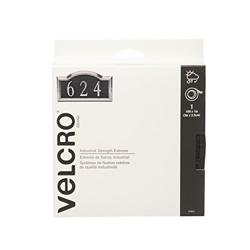 VELCRO Brand - Industrial Strength Extreme Outdoor | Heavy Duty, Superior Holding Power on Rough Surfaces | Tape...