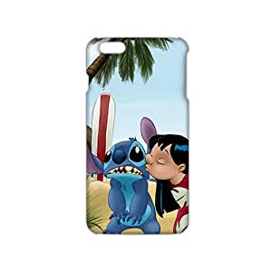 Ultra Thin 3D Case Cover Lilo & Stitch Cartoon Phone Case for iPhone6