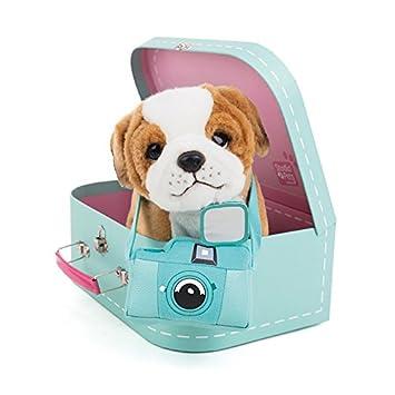 Studio Pets Perro de Peluche en maletín 6208: Amazon.es: Juguetes y juegos