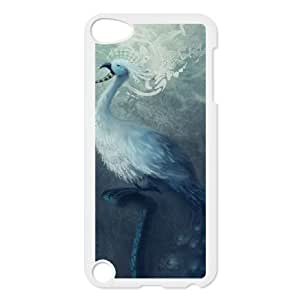 peacock painting iPod Touch 5 Case White xlb2-132512