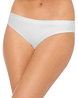 Hanes Ultimate Smooth Tec Womens Bikini Panties 3-Pack 42ST