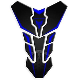 Adesivo Protettivo per Serbatoio della Moto elegantstunning Colore: Nero con Adesivo 3M per Yamaha MT09 MT-09 13-16