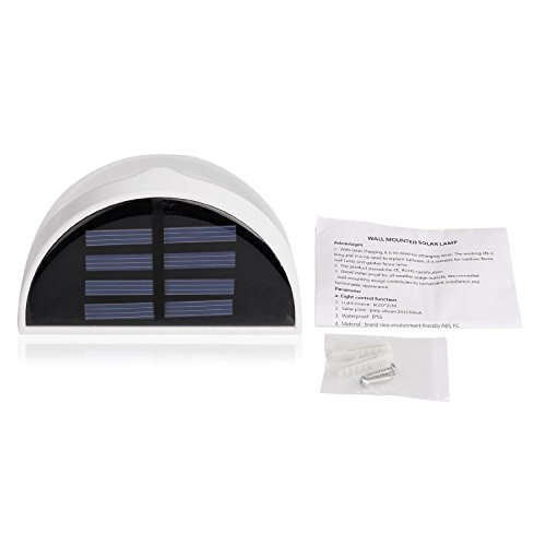 babd34879cabd low-cost Solar Power Powered Saving Efficient Bright LED Practical Fence  Roof Gutter Garden Yard