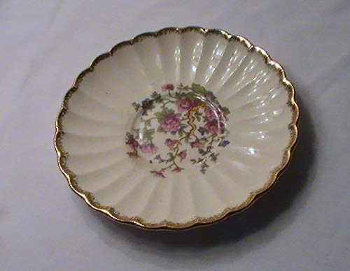- Vintage Sebring Golden Ware Indian Tree Saucer