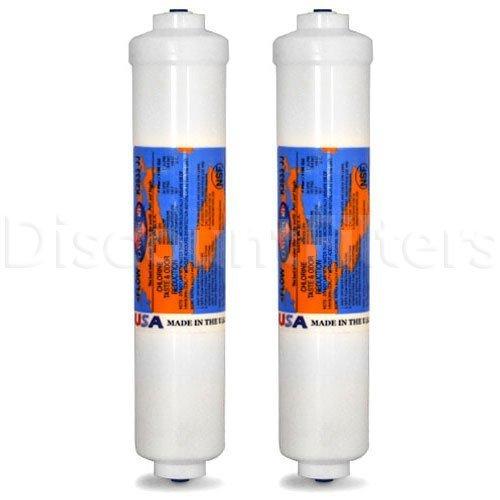 OmniPure Universal Inline Water Filter (K2533-JJ), 2-Pack