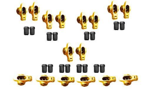 Self -Alining ellow Anodized Alum Rocker Arm w/Locks 1.6