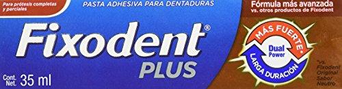 Unidistri Adhesivo Dental Fixodent Plus, 35 ml