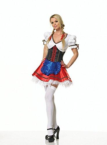 BEER GIRL COSTUME-MEDIUM