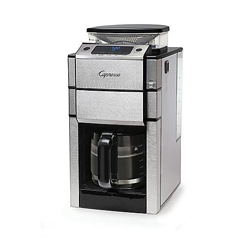 Jura Capresso Coffee TEAM PRO Plus 487.05 12-Cup Coffee Maker in Stainless Steel (Jura Coffee Grinder compare prices)