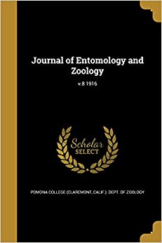 Journal of Entomology and Zoology: v.8 1916