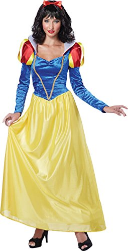 California Costumes Women's Snow White,Blue/Yellow, Small Costume ()