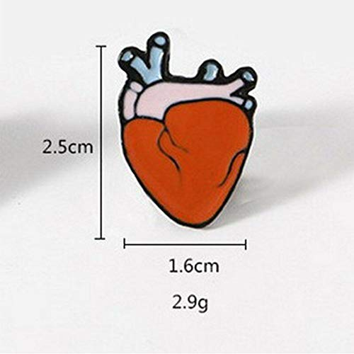 Cute Cartoon Piercing Brooch Pin Enamel Collar Badge Corsage Women Gift Decor | Choose style - 47 ()