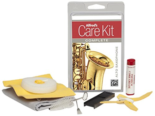 Alfred Music Publishing 99-1474069 Saxophone Cleaning & Care Product