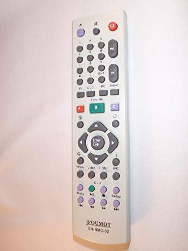 GENERIC Replacement Remote Control for WESTINGHOUSE Digital LCD TV/DVD Combo PN: SR-RMC-02 ()