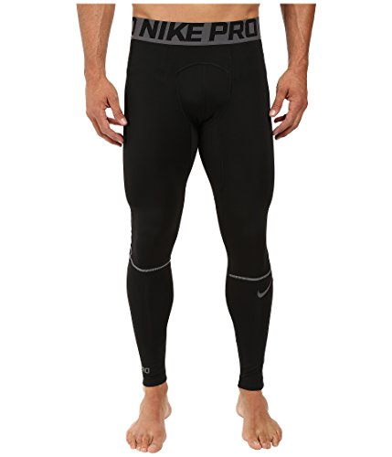 Nike Men's Pro Hyperwarm Tight Black/Dark Grey Size ()