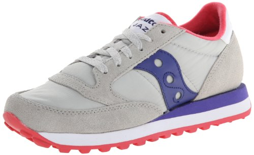 Cross Grey Femme Light Jazz Saucony Original Dark Purple Chaussures de fwSI1x