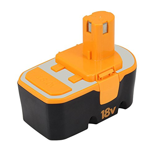 Replace Battery for Ryobi 18V P100 P101 ONE+ 1.5m-Ah NiCd 130224028 130224007 ABP1801 ABP1803 Cordless Power tools