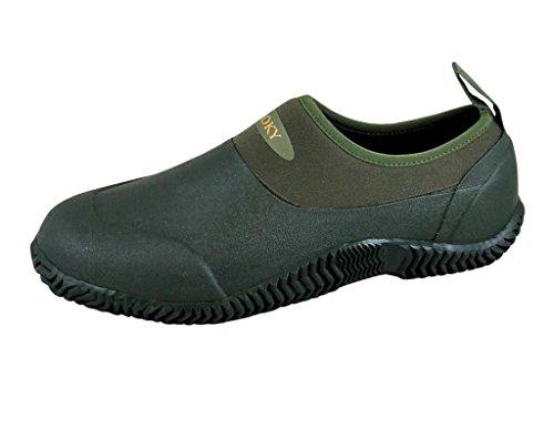 Smoky Mountain Men's Amphibian Casual Shoes Green 9 D