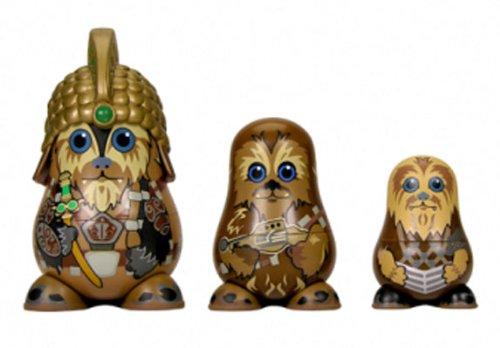 Chubby Star Wars Series 1: Chubby Wookies Nesting Figures