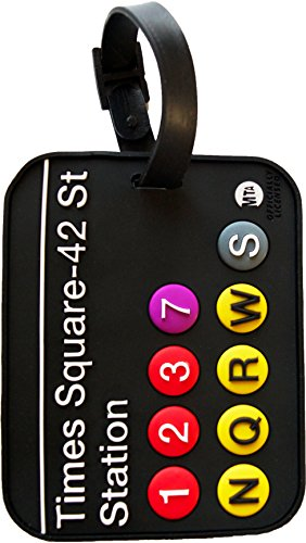 New York Luggage Tag Times Square 3-D Subway Station MTA NY Bag ID - New In York Square Stores Time