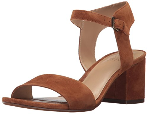 Naturalizer Women's Caitlyn Dress Sandal, Whiskey, 8 M (Brown Leather Woman Sandal)