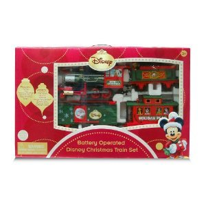 disney christmas train set with light and sound characters move up down - Disney Christmas Train
