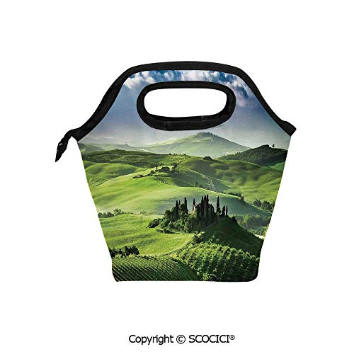 Picnic Food Insulated Cooler Tote Lunch Bag Sunrise