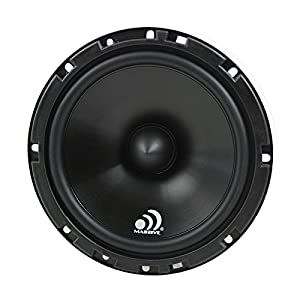 Massive Audio LK6 - 6.5 Inch 300 Watts Max / 80w RMS, 4 Ohm, LK Series, Component Car Audio Speaker System (Pair)
