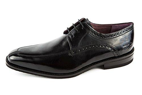 Noir Chaussures Mh15 Hamilton À Melvin Lacets Homme Pour De Ville amp; 758 RaAqnwPq