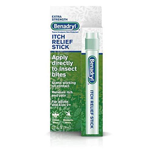 Benadryl Itch Relief Stick, Extra Strength-0.47oz