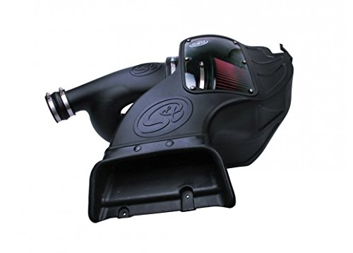 Boost Air Intake (S&B Filters 75-5081 Cold Air Intake 2015-2017 Ford F150 2.7L, 3.5L Ecoboost (Cleanable Filter))
