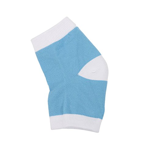 Yiwa Unisexe hydratant Gel Chaussettes respirant confortable Talon Chaussettes