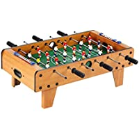 GetBest 6 Rods Foosball Table Game, Mini Soccer Table Game for Kids, 61cm