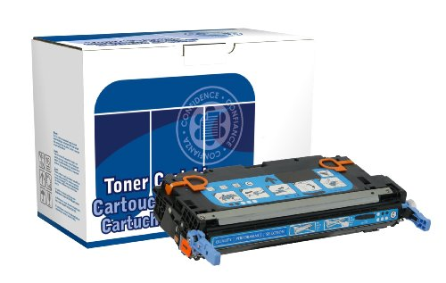 Dataproducts DPC3800C Remanufactured Toner Cartridge Replacement for HP Q7581A (Cyan)