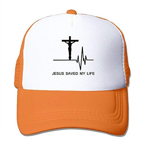 Mesh Baseball Caps Saved My Life Electrocardiogram Adjustable Sports Trucker Cap Sun Hats For Golf Cycling Running Fishing Outdoor