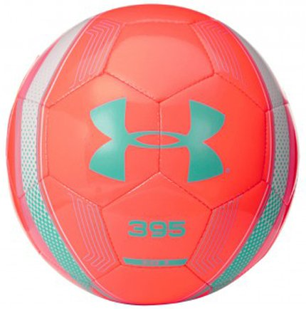 395 Soccer Ball, Afterburn with White Highlights, Size 5
