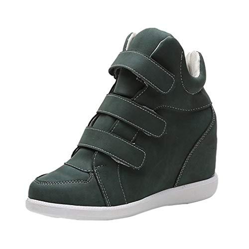 Tacón Grandes Bajos Mujer Cuña Señora Zapatillas Botines Tallas Otoño Calzado 2018 Moda Casual Invierno Dama Paolian Plataforma Botas De Verde Para Zapatos Terciopelo 1OwqP57