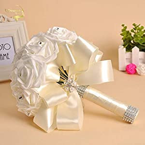 Bride Bridesmaid Artificial Hands Holding Flowers Wedding Bouquets for Bridal Bouquets Bridal Bouquet WP003 25