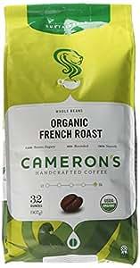 Cameron's Organic Whole Bean - French Roast - 32 oz