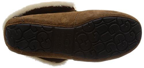 UGG Australia Womens Grantt Leather Slipper Chestnut Suede DgGmWtngYV
