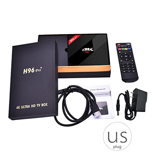 H96 Pro Plus Android 7.1.2 TV Box Amlogic S912 Octa-Core 3G 32G 2.4G/5.8GHz WiFi TV Box Media Player ()